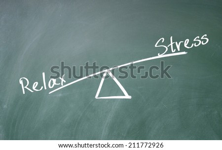 relax and stress concept  - stock photo