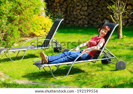 Lawn Chair Stock Images Royalty Free Images Amp Vectors