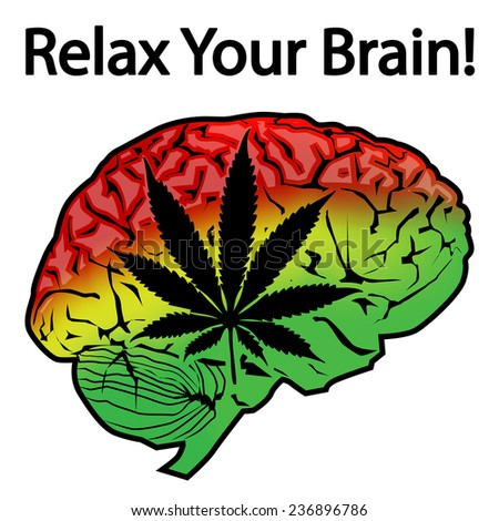 Relax Your Brain - stock photo