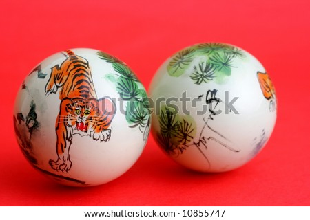 Relaxation balls 3 - stock photo