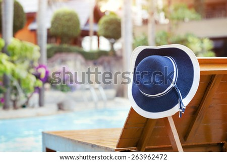 relaxation in luxury hotel - stock photo