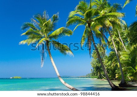 Relaxation In Peace Serenity Shore - stock photo