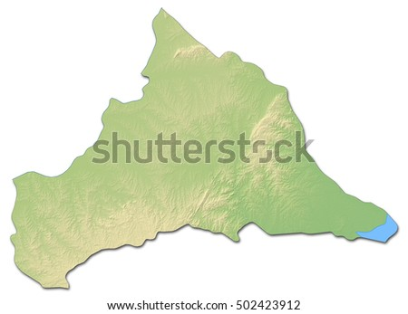 New York State Map Geometric Polygonal Stock Vector - Uruguay relief map