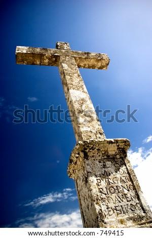 Religion Cross - stock photo