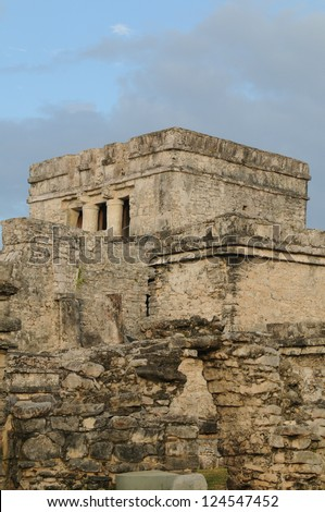 Religious Temple from ancient Mayan culture