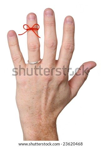 Remember Marriage - stock photo