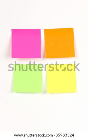 reminder note - stock photo