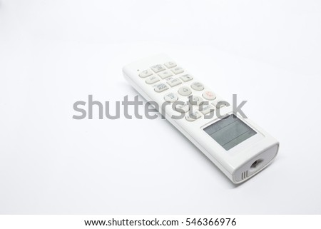 Remote air on white background. Isolated.