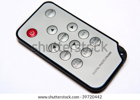 Remote control - stock photo