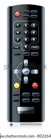 Remote control. - stock photo