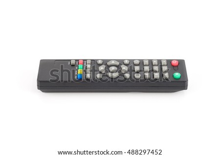 remote control isolate on white background.