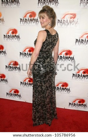 Rena Riffel at the Los Angeles Premiere of 'Dark Reel'. Queen Mary, Long Beach, CA. 03-15-09