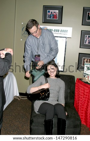 Rena Sofer GBK Productions Golden Globe Gifting Suite Friar's Club Beverly Hills   CA January 11, 2007