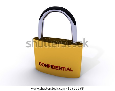Rendering of a Lock (Confidential)