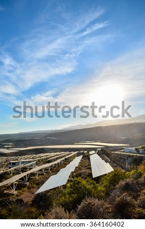 Renewable Energy Concept - stock photo