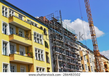Renovation of Houses - stock photo