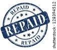 repaid stamp - stock photo