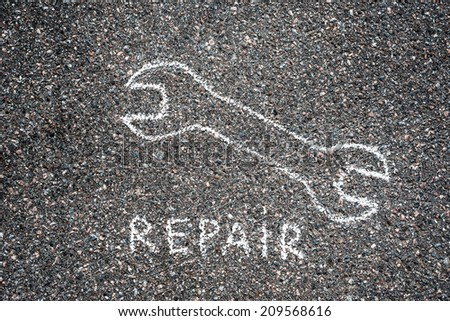 Repair - stock photo