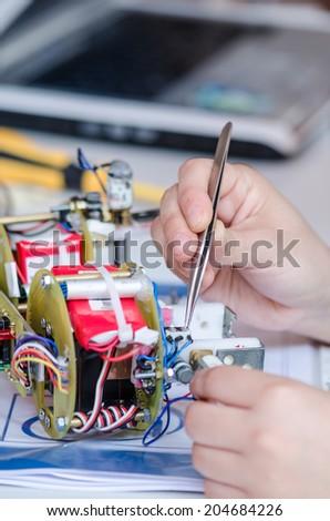 repairing - stock photo