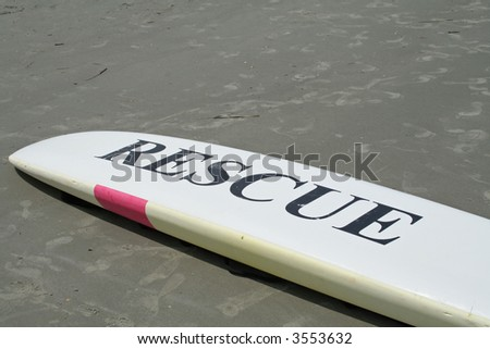 rescue surf board