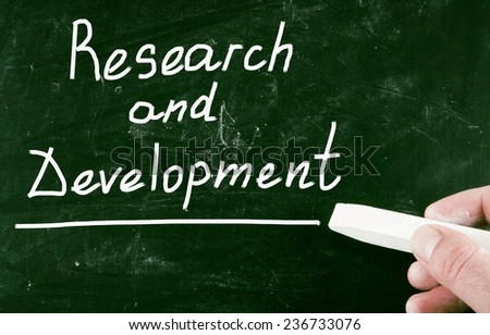 research and development - stock photo