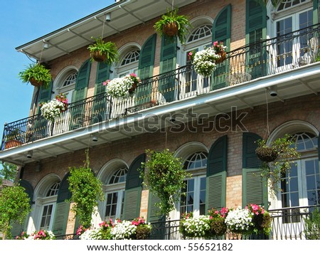 Residence in the French Quarter N.O.