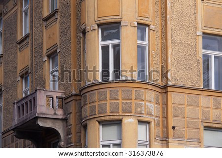 Residential building in Ljubljana from the begining of the 20th century.