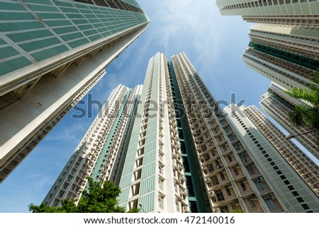 Residential building to the sky