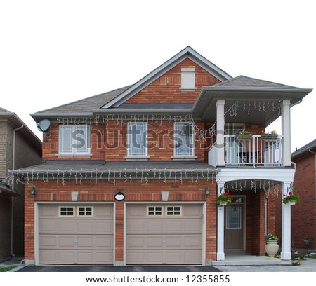 Residential House - stock photo