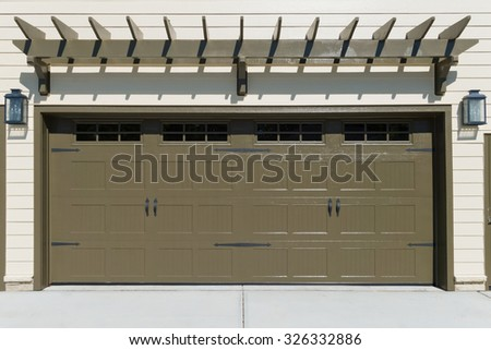 Shutter Door Door Fire Cabinet Letterbox Stock Photo