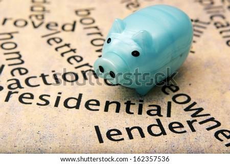Residential lender concept - stock photo