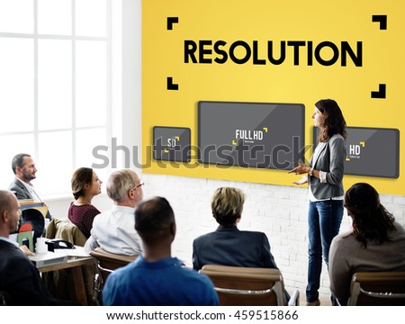 Resolution Digital Screen Ultra Technology Display Concept