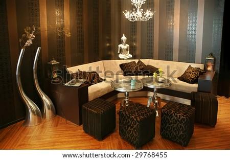 rest corner - stock photo