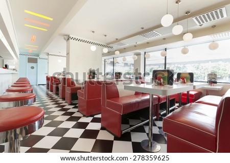 Restaurant Diner Stock Photo 278359625 Shutterstock