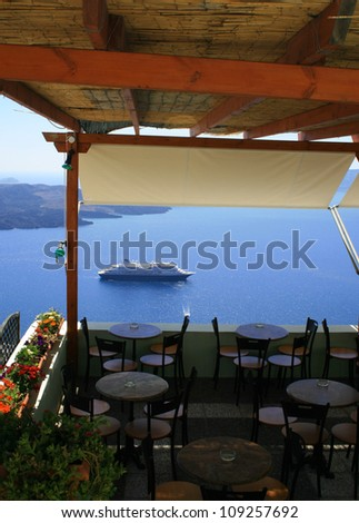 restaurant with beautiful view
