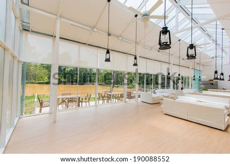 Resting in White Hall - stock photo