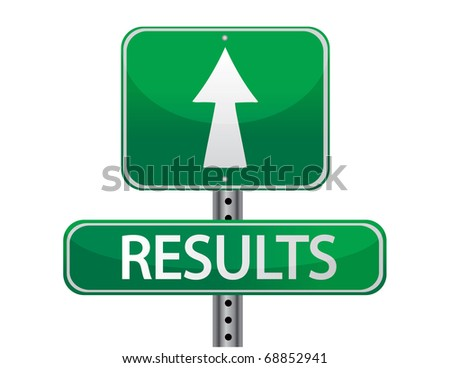 results street sign concept - stock photo