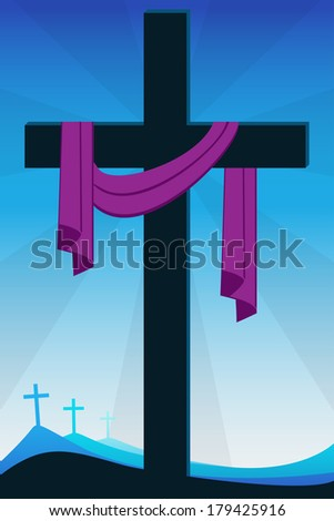 resurrection - stock photo