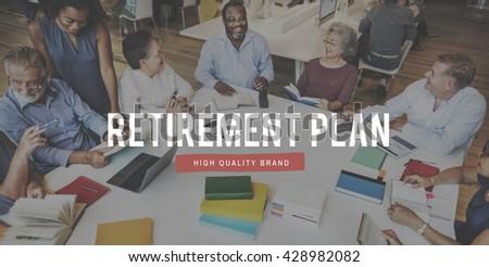 Retirement Earning Savings Senior Wealth Concept - stock photo