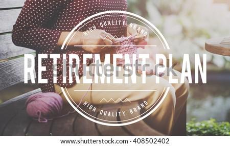 Retirement Plan Pension Insurance Life Concept - stock photo