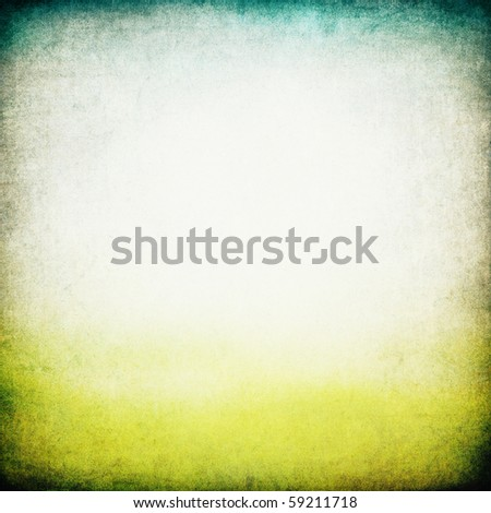 Retro abstract image of a sky and earth. - stock photo