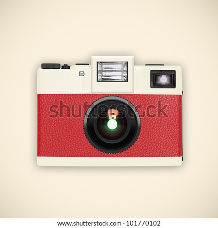retro and vintage camera ,graphic design