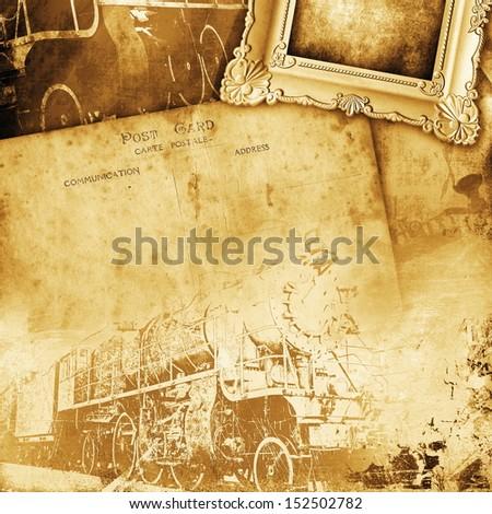 Retro background - stock photo