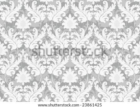 Retro background brightly grey color - stock photo