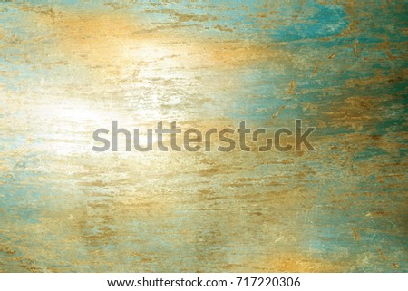 Retro background wall with brushed polished texture