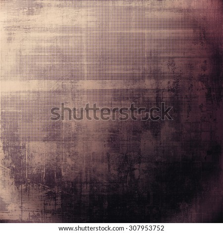 Retro background with grunge texture. With different color patterns: brown; purple (violet); black; pink