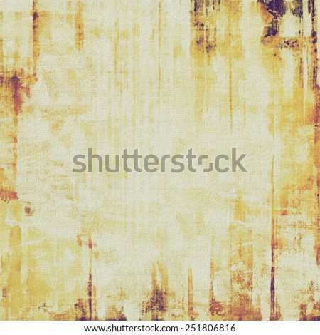 Retro background with grunge texture. With different color patterns: yellow (beige); brown; gray - stock photo