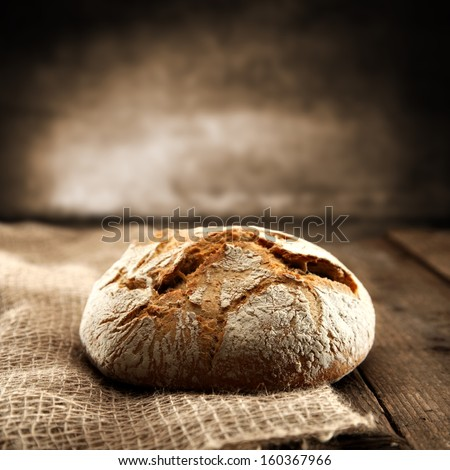 retro bread  - stock photo