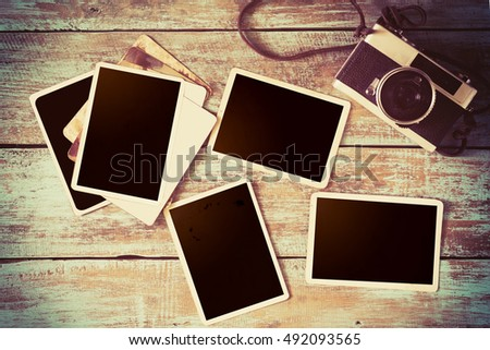 old fashioned photo albums
