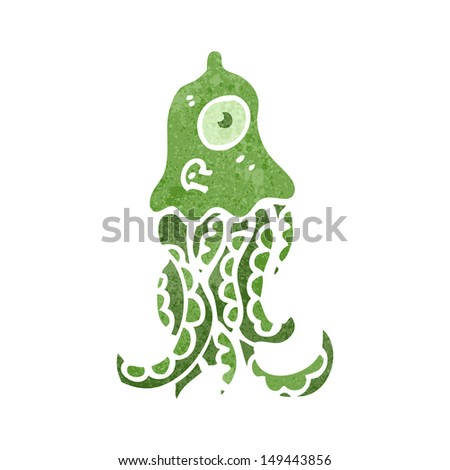 retro cartoon giant squid retro cartoon giant squid retro cartoon